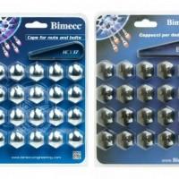 Колпачки Bimecc на болты и гайки (комлект 20 шт.) ХРОМ