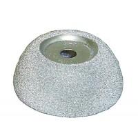 RH107 Абразивная полусфера 65/25мм, 9мм зерно 170